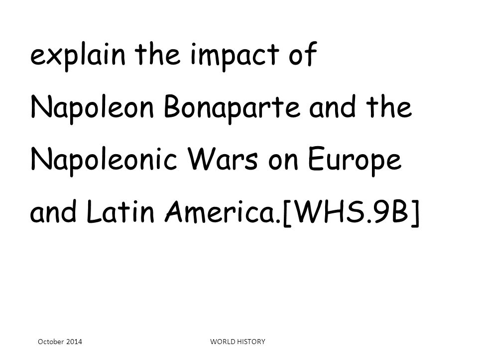 impact napoleon bonaparte History assignment help, what impact did napoleon bonaparte have on war of 1812, what main impact did napoleon bonaparte have on the war of 1812 jefferson admired bonaparte's expansionist beliefs.